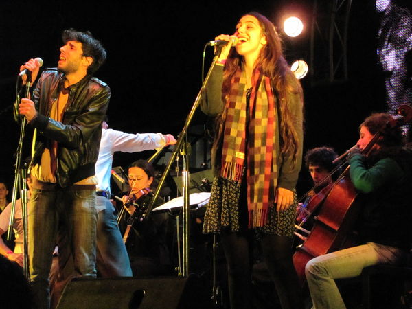 Les Mentettes Orchestra @ Ciudad Emergente 2010 (1)