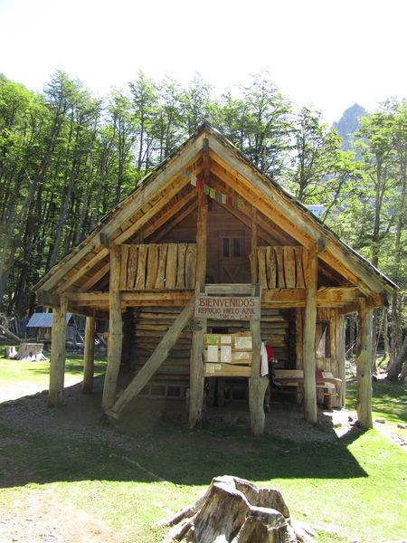 Refugio Hielo Azul