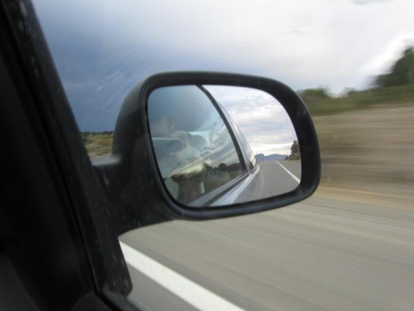 Espejo, ruta, movimiento... y yo