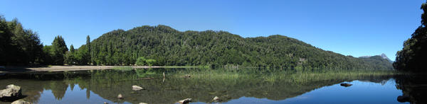 Lago Espejo Chico (panorama)