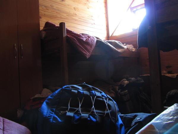 Habitaión del hostel El Hongo