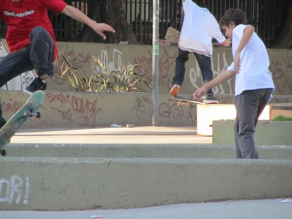 Skaters @ Facultad de Medicina (1)