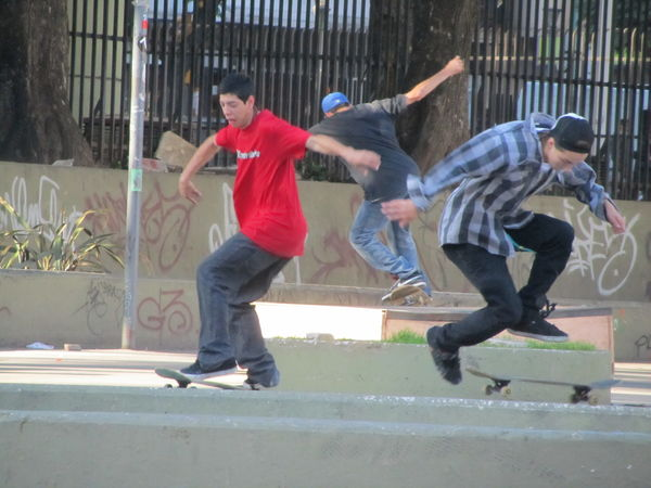Skaters @ Facultad de Medicina (2)