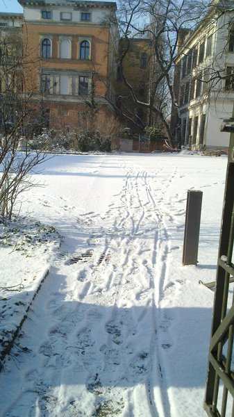 Una poca de nieve