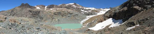 Laguna y Glaciar Hielo Azul
